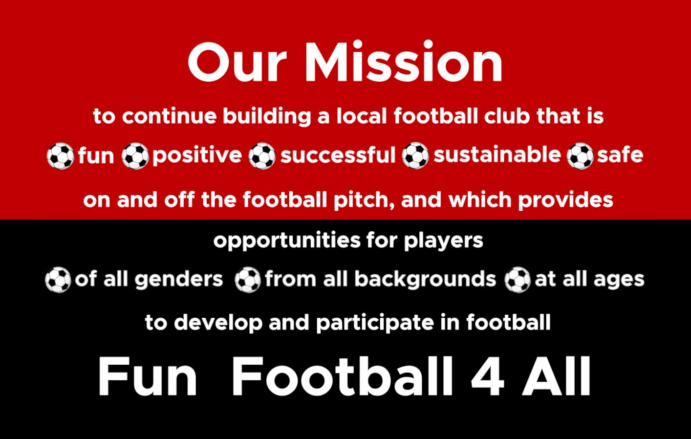 Flixton Juniors AFC Fun Football 4 All