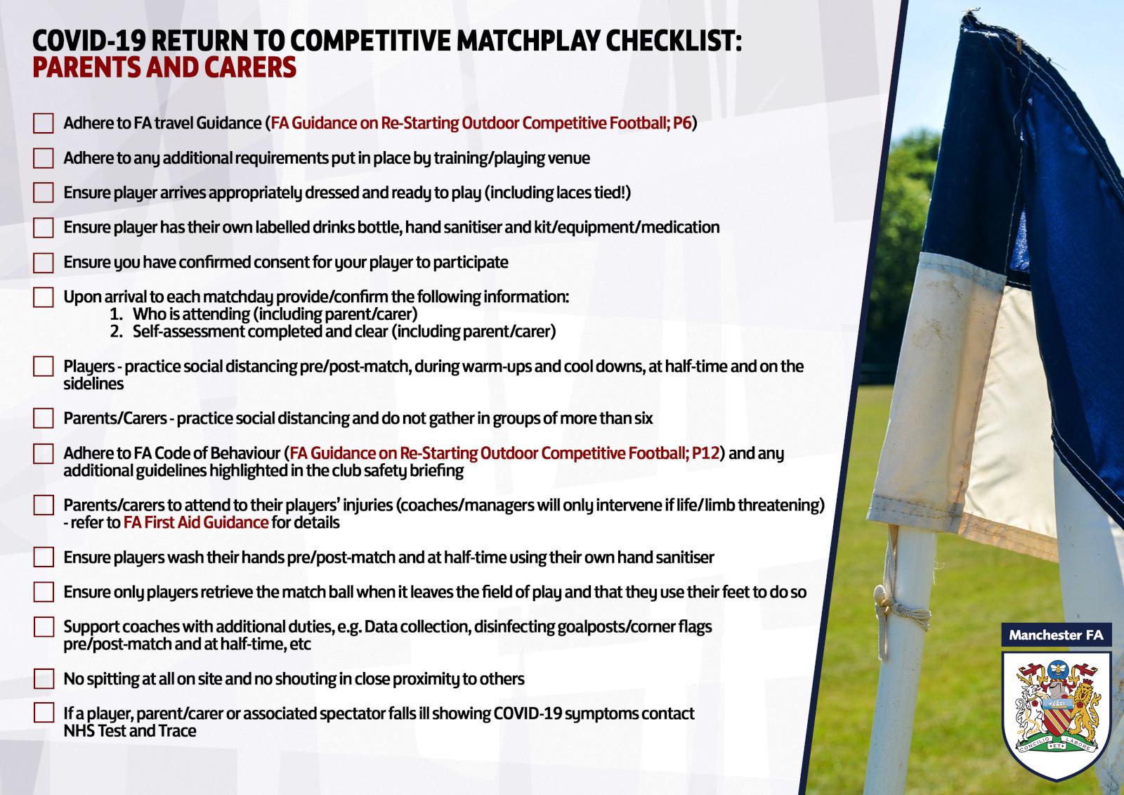 FA Checklist